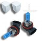 Pack 2 Ampoules H16 Effet Xenon - Super White 5000K
