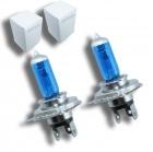 Pack 2 Ampoules H4 Effet Xenon - Super White 5000K