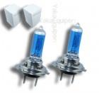 3+1 GRATUIT Pack 2 Ampoules H7 Effet Xenon - Super White 5000K
