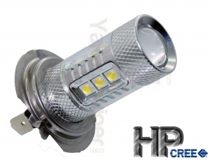 Ampoule HPC 80W LED H7 - Blanche