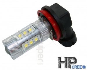 Ampoule HPC 80W LED H8 - Blanche