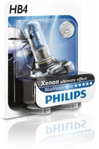1 ampoule HB4 9006 Philips Blue Vision Ultra