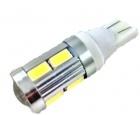 Ampoule T10 LED 3D<sup>10</sup> SMD - Culot W5W - Blanc Pur
