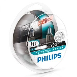 Pack 2 ampoules H1 Philips X-treme Vision +130%