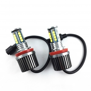Angel eyes LED ampoules H8 LUXE V7 BMW Serie 5 E60 E61