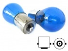 2 ampoules 1156 P21W S25 BA15S Effet Xenon