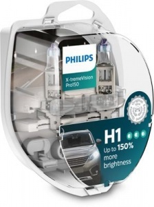 Pack 2 ampoules H1 Philips X-tremeVision Pro150