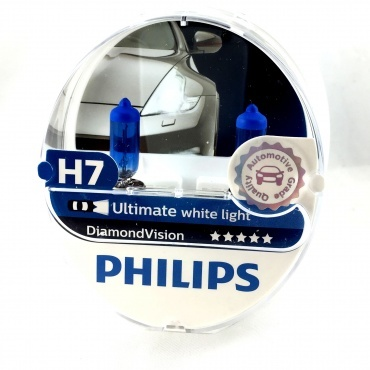 2x ampoules philips h7 diamond vision 55w yakaequiper. Black Bedroom Furniture Sets. Home Design Ideas