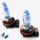 Pack Ampoule H9 HOD Effet Xenon - Cristal White 6500K
