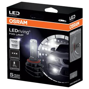 Osram 2 Ampoules LED H11/H8/H16 6000K