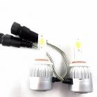 2 Ampoules LED HB3 9005 HEADxtrem C6 7600lumens 72W - Blanc Pur