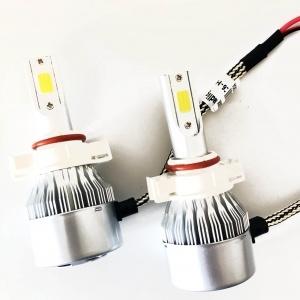 2 Ampoules LED H16 HEADxtrem C6 7600lumens 72W - Blanc Pur