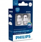 Pack 2 Ampoules T10 Philips X-treme Ultinon LED 6000K - W5W