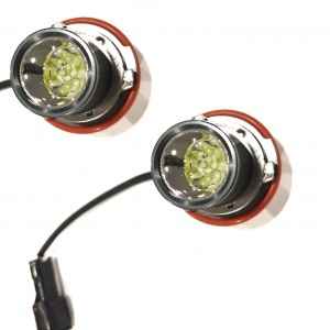 Pack Ampoule LED 20Watts angel eyes BMW E39 E53 E60 E83 E87 - Blanc