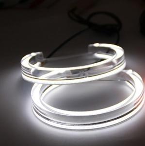4 Angel eyes cristal LED 3D BMW E36 E38 E39 et E46 avec xénon