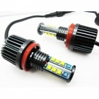 Pack Ampoules LED anneaux H8 LUXE V6 angel eyes BMW X5 E70