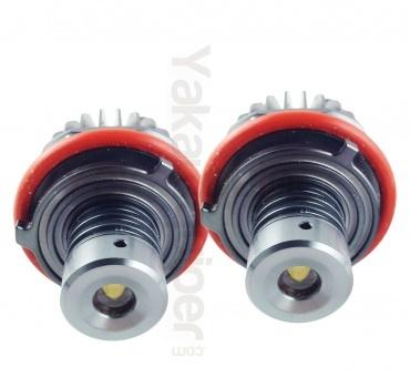 Pack Ampoule LED 10Watts V2 anneaux angel eyes BMW E39 à E87, X3- Blanc xenon