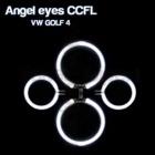4 Anneaux Angel eyes CCFL VOLKSWAGEN GOLF 4 Blanc
