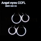 Pack 4 Anneaux Angel eyes CCFL BMW E83 X3 Blanc
