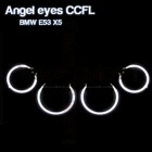 Pack 4 Anneaux Angel eyes CCFL BMW E53 X5 Blanc