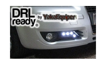 feux de jour led drl ready pour audi a3 8p blanc yakaequiper. Black Bedroom Furniture Sets. Home Design Ideas