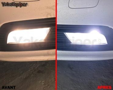2 Ampoules LED H11 HEADxtrem C6 7600lumens 72W - Blanc Pur
