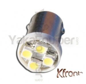 Ampoule T4W LED Xfront<sup>4</sup> SMD - Culot BA9S - Blanc Pur
