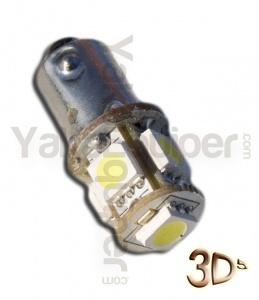 Ampoule T4W LED 3D<sup>5</sup> - Culot BA9S - Blanc Xenon