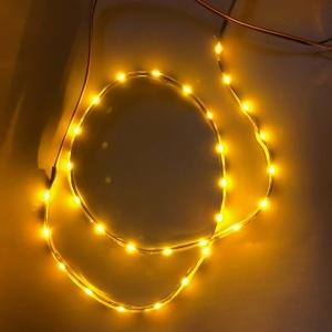 2 Bandes Flexible LED SIDE - 60cm - Eclairage de coté - Clignotant - Orange