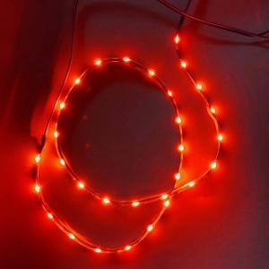 Pack Bande Flexible LED SIDE - 60cm - Eclairage de coté - Feux stop - Rouge