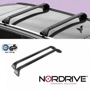 NORDRIVE Barres de toit SNAP Acier BMW serie 3 E91