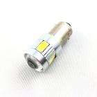Ampoule H6W LED 3D<sup>6</sup> SMD- Anti Erreur OBD - Culot bax9s - Blanc Pur