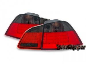 Feux arriere BMW Serie 5 E61 LED 03-07 - Fume