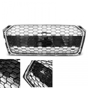 Grille calandre Audi A5 facelift 18+ - look RS5 - Chrome - PDC