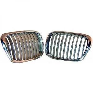 Grilles calandre BMW Serie 5 E39 95-03 - Chrome