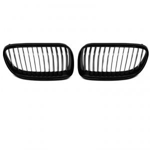 Grilles calandre BMW Serie 3 E92 E93 07-10 - Noir brillant