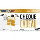 Cheque cadeau noel YakaEquiper.com valeur 500€