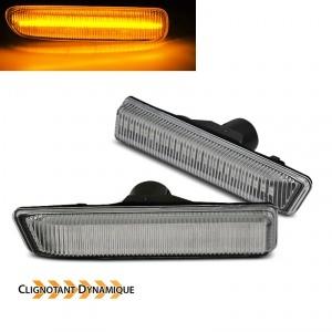 Clignotants LED dynamiques BMW X5 E53 99-06 - Clair