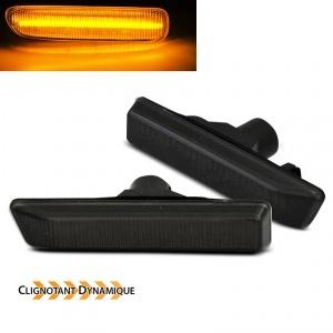 Clignotants LED dynamiques BMW X5 E53 99-06 - Noir fume