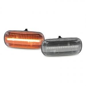 2 Clignotants d'aile dynamiques LED Audi A3 A4 A6 A8 TT- Clair