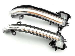 2 Clignotants retro dynamiques LED BMW serie 1/2/3/4/X1 F20 F22 F30 F32 E84 - Clair