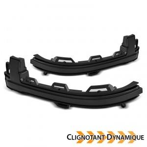 2 Clignotants retro dynamiques LED BMW X3 F25 X4 F26 X5 X6 - Noir
