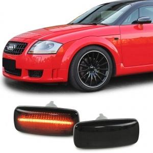 2 Clignotants d'aile LED Audi A3 8L A4 B5 A6 C5 A8 TT 8N - Noir