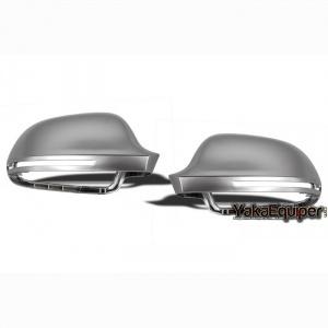 Coques / coiffes retroviseur alu pour AUDI A3/A4/A5/A6 lane assist