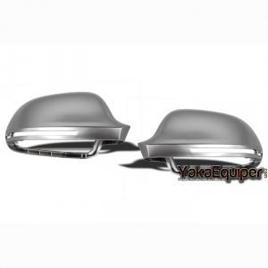 Coques / coiffes retroviseur alu pour AUDI A3/A4/A5/A6