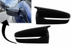 Coques retroviseur noir brillant BMW G20 G21 G30 G31 G11 G14 G15