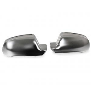 Coques / coiffes retroviseur Chrome Mat pour Audi A3 8P 10 -13 A4 8K 09-15 A5 8T 09-17