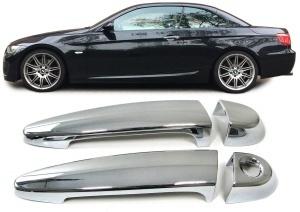 Couvre poignees BMW Serie 3 E92 E93 Serie 1 E81 E82 E88  - Chrome