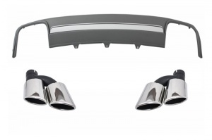 Diffuseur arriere AUDI A4 B8 11-15 - Look S4