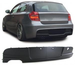 Diffuseur arriere BMW serie 1 E87 simple sortie double
